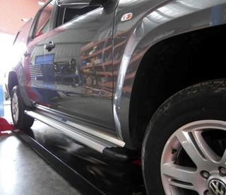 Picture of Kingsley Integra Sidesteps to suit VW Amarok Dual cab