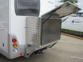 Picture of Diamond T Tool boxes - Fiat Ducato Motor homes