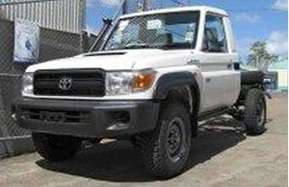 Picture of Front Factory Style Flares - Suits 70 Series Landcruiser