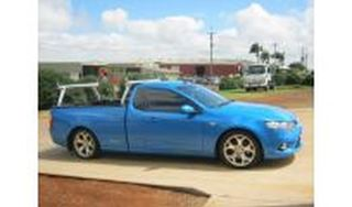 Picture of Polished Alloy Trade Racks - Ford FG Falcon Ute