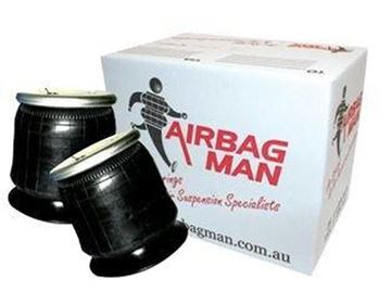 Picture of Coil rite Black bellow air bags