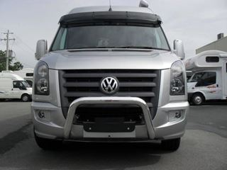 Picture of VW Crafter 76mm polished alloy nudgebar