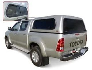 Picture of EGR Fleet series Canopy to suit Toyota Hilux Dual cab