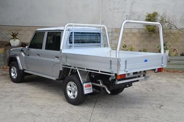 Picture of Duratray with 76mm style racks - Suits Landcruiser Workmate