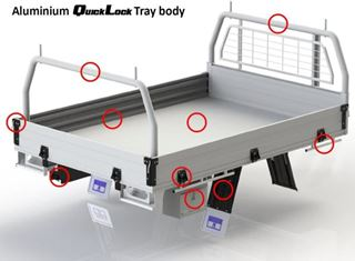 Picture of Triple M Alloy Trays