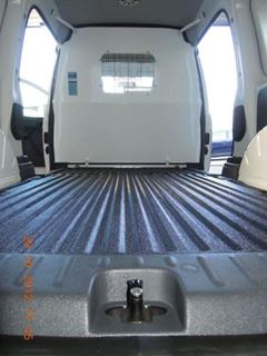 2013 VW Caddy Vapour Proof Cargo Barrier