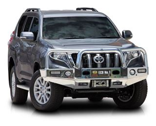 Picture of ECB Alloy Winch Bullbar - Suits 150 Series Prado (11/13 - 10/17)