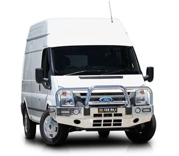 Picture of 2014 Ford Transit ECB Big tube polished alloy Bullbar