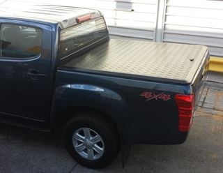 Picture of EGR Alloy Hard lid  - Dmax Dual cab (6/12 - 2/17)