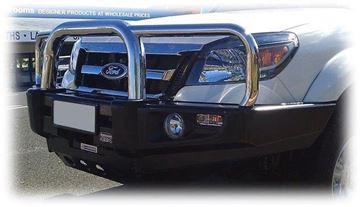 Picture of Dobinsons Stainless Loop Deluxe Bullbar - PK Ranger