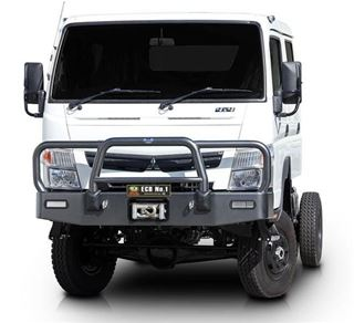 Picture of 2015 Fuso Canter 4x4 ECB Big Tube Alloy Bullbar