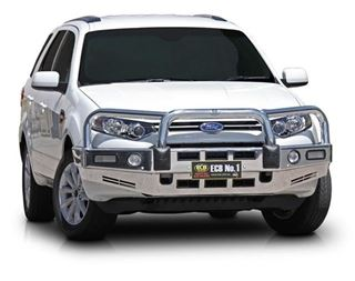 Picture of ECB Polished Alloy Bullbar - 2015 Ford Territory