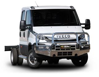 Picture of ECB Alloy Bullbar - Iveco Daily