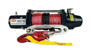 Picture of Kingone 9500 pound Winch with Dyneema Rope or steel cable