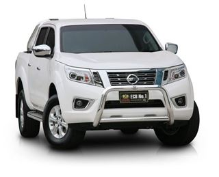 Picture of 2015 D23 Navara 76 mm Polished alloy low nudge bar