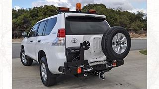 Picture of Twin Wheel carrier - Suits Prado 150 Series
