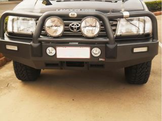 Picture of ECB Powdercoated Bullbar - Suits 100 series Land Cruiser