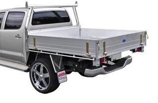 Picture of Alloy Duratray and Trade Racks -  Suits Hilux (9/11 - 6/15)