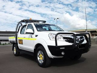 Picture of Foton Tundra Alloy Bullbar with Fog lights