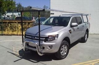Picture of Polished Nudgebar and H rack - Ford PX Ranger