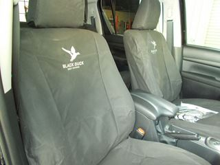 Picture of Black Duck Canvas Seat Covers