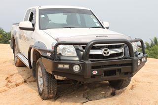 Picture of BT50 06-2011 OL Triple Loop Bullbar