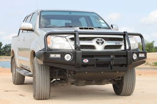 Picture of OL Post Type bullbar - Suits Hilux (3/05 - 8/11)