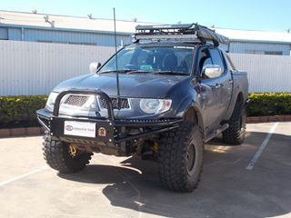 Picture of X-ROX Steel Bullbar - MN Triton