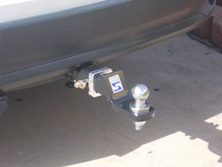 Picture of Hayman Reese Heavy duty towbar - Suits Kluger