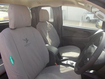 Picture of Black Duck Seat Covers - Dmax (02/2017 - On)