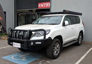 Picture of OL Post Style Bullbar - Suits Prado (11/17 - On)