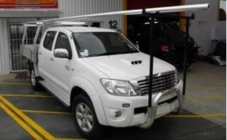 Picture of Polished Nudge bar and H rack - Suits Hilux (09/11 - 06/15)