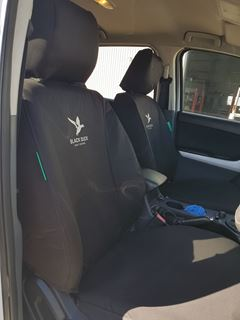 Picture of Black Duck Seat Covers - BT50