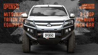 Picture of PIAK Post Type Premium Bullbar - Triton MR