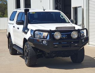 Picture of Dobinsons Deluxe Bullbar - Suits Hilux (07/18 on)