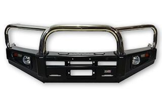 Picture of Stainless Loop Deluxe Bullbar