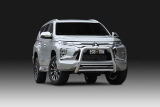 Picture of ECB 76mm Alloy Nudgebar - Pajero Sport (11/19 - On)