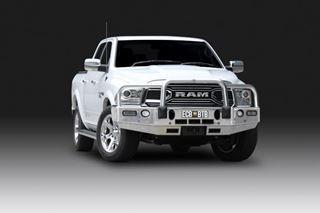 Picture of ECB Alloy Winch bullbar - Dodge Laramie (07/18 ON)